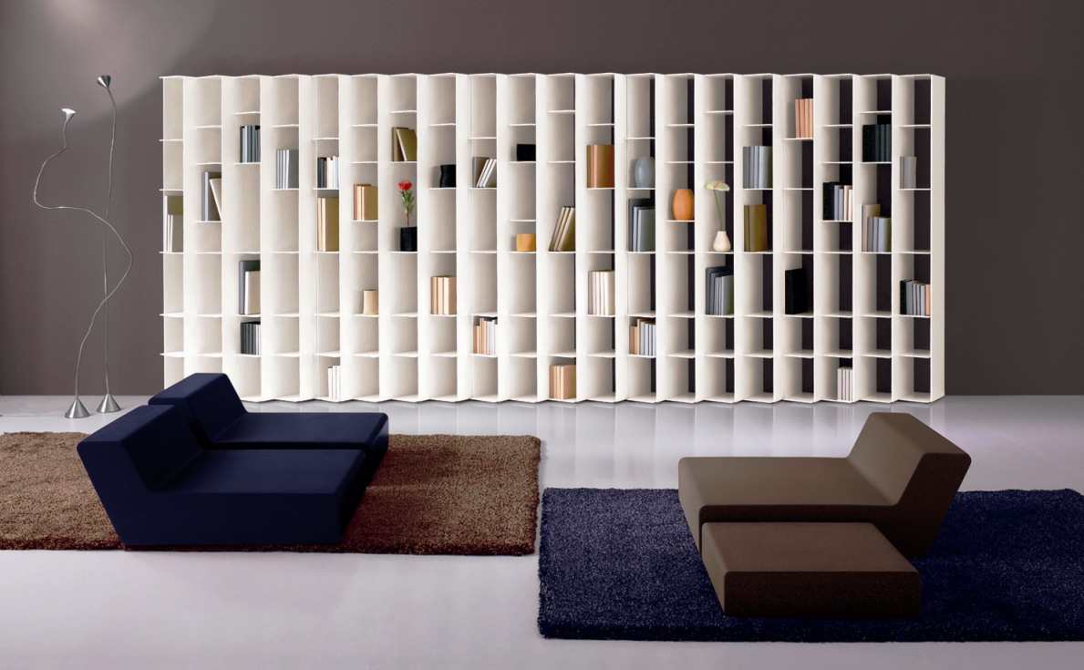 Ledge - Book shelf design ...